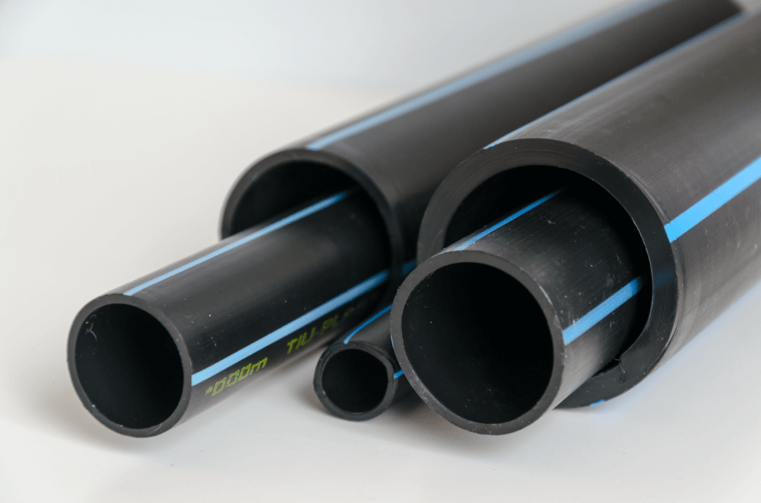 ROVOKAN Pipes are supplied in rods or in rolls